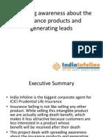 India Infoline-Insurance Ppt