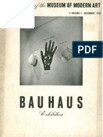The Bulletin of the MoMA Bauhaus Exhibition