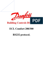 ECL300_RS 232 Protocol