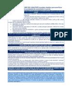 Dobanzi Pentru Contul Curent Si Produsele de Economisire Destinate PF