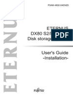 ETERNUS DX80 S2/DX90 S2 Disk storage system User's Guide -Installation-