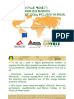 biovale - biodiesel business as an agent of social inclusion