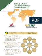 biovale energia - partnership & prospects