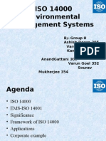 ISO 14000 Environmental Management Systems