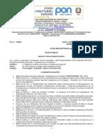 Bando Esperti Esterni Madre Lingua PON C1 FSE 2013-1267