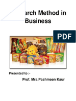 Research Method in Business(Final) (1)