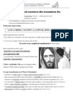 13. Cristo, El Centro de La Fe