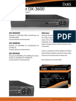 Dotix Datasheet DVR DX 36 Port