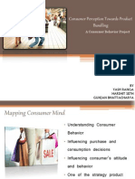 CONSUMER BEHAVIOR study on perception of buyers towards product bundling in pre buy conditions