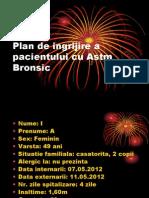 Plan de Ingrijire a Pacientului Cu Astm Bronsic.alexandra