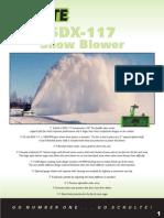 Broch_SDX117 Snow Blower