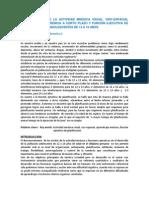 DETERMINACIÓN DE LA ACTIVIDAD MNÉSICA VISUAL 12 a 16 aÑos