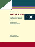 Practical BIM 2012
