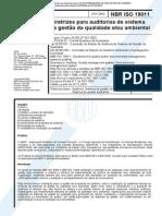 NBR ISO 19011 - 2002 - Auditoria para Gestão da Qualidade.pdf