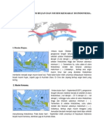 Terjadinya Musim Hujan Dan Musim Kemarau Di Indonesia