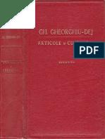 Gheorghiu-Dej-Articole Si Cuvantari partea a 3-a