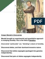 3 - Mendel and Gene Idea