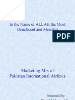 Marketing Mix of Pia