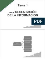 T1 Representacion de la información 13 14