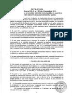 Instructiuni pentru aplicarea O.U.G. 103 2013
