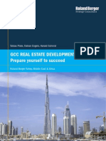 Roland Berger Real Estate Developers in Gulf Cooperation Council 20130903