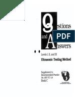ASNT UT Levels I, II & III Questions & Answers2