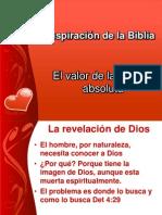 La inspiración de la Biblia II IBE Callao