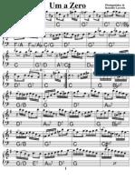 Um a Zero Piano version
