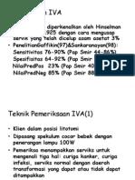 Pemeriksaan IVA dr T Mirza Sp.OG (K)