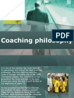 Coaching Philosophy