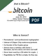 Bit Coin Presentation