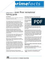Camden Haven River Recreational Fishing Guide