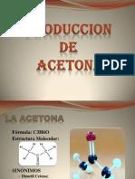 Produccion de La Acetona I-2012 P.P.