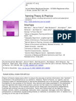 Planning Theory & Practice Dec 2011