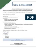 Carta Presentacion Isem Ltda