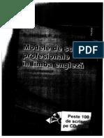 Scrisori Profesionale Engleza i