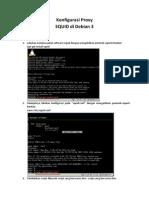 Proxy Server (Squid) Debian 3
