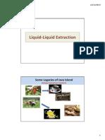 OPB#11&12Liquid Liquid Extraction