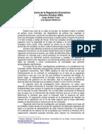 Historia de la Regulación- Jorge Tovar
