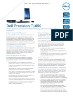 Dell Precision t1650 Spec Sheet Fr 1