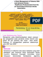 guidelines tata laksana stroke iskemik 2013