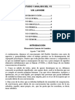Estudio y Analisis Del Yo