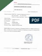 Certificado Plancha de Izaje