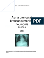 Asma Bronquial, Bronconeumonia y Neumonia