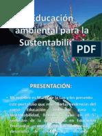 Educación ambiental para la Sustentabilidad LUZ