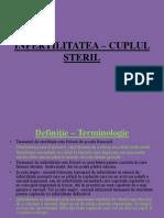 INFERTILITATEA – CUPLUL STERIL