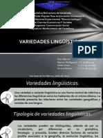 PRESENTACION de Variedades Linguisticas de Wolf