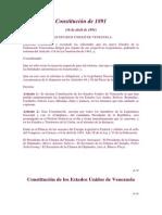 Constitucion de 1891