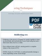 Soldering Techniques