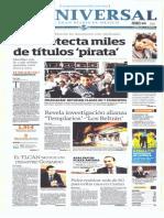 Gcpress Portadas Medios Mexicanos Martes 21 Ene 2014